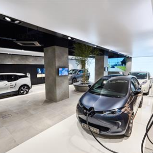 Electric Vehicle Experience Centre in Milton Keynes