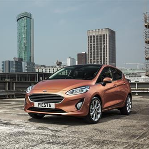 Ford All-new Fiesta in Birmingham UK Sales Hotspot