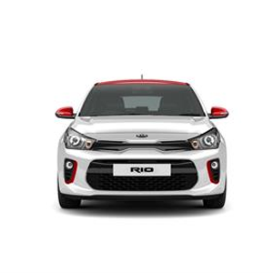 Kia Rio Pulse Clear White
