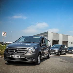 Magnificent Seven Mercedes-Benz Vito Vans