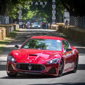 Maserati at Goodwood Festival of Speed 2017