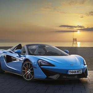 McLaren 570S Spider - Curacao Blue