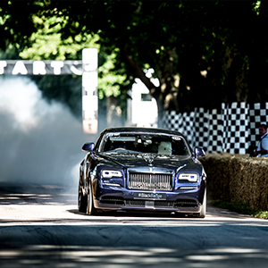 Rolls-Royce Black Badge Display At The Goodwood Festival Of Speed