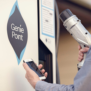 GeniePoint Network Rapid Charger