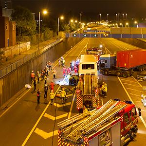 Highways England Supports Training Exercise