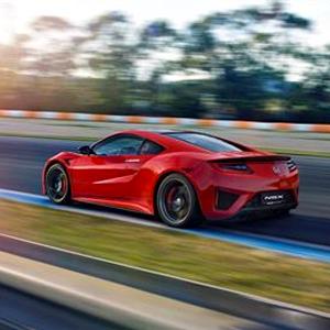 Honda NSX Curva Red