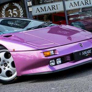 Jamiroquai's Cosmic Girl Lamborghini goes for sale on Auto Trader