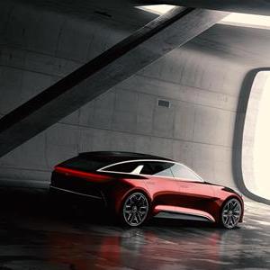 Kia concept at the 2017 Frankfurt Motor Show