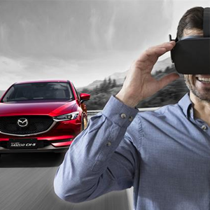 Mazda brings the all-new Mazda CX-5 and virtual reality test