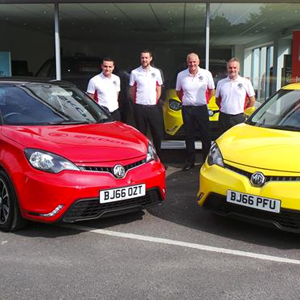 New Forest welcomes MG dealerNew Forest welcomes MG dealer