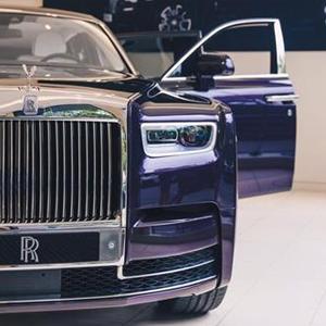 New Rolls-Royce Phantom Showroom Debut