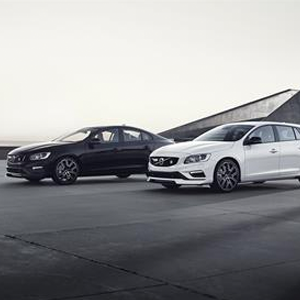 The updated Volvo S60 and V60 Polestar
