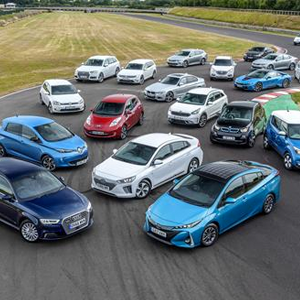 UK pure-electric and plug-in hybrid cars
