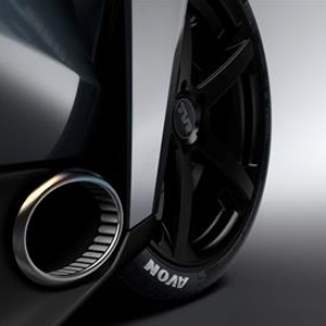 Avon Tyres OE fitment for new TVR launching at Goodwood Revival