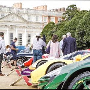 Concours of Elegance celebrates first day at Hampton Court Palace