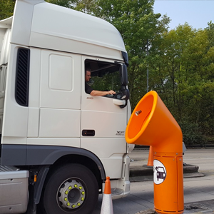 Giant Funnel Bins To Tackle Motorway Litter