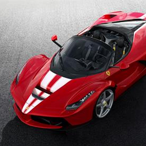 LaFerrari Aperta to benefit the charity Save the Children