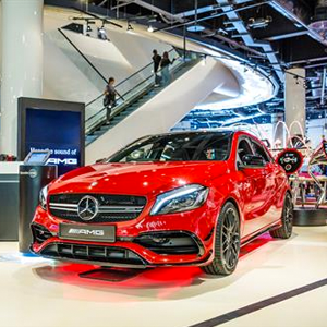 Latest Mercedes Benz Pop Up shop opens in Selfridges at The Bullring