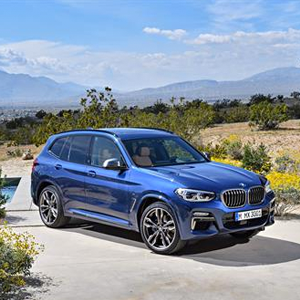 New models available within the BMW X3 range