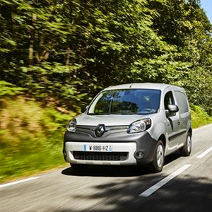 Renault Kangoo Van Z.E. 33 With Over 50 Per Cent More Range
