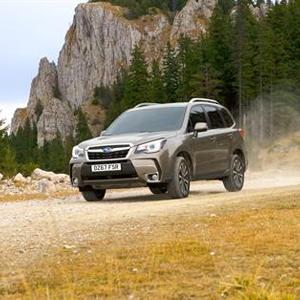 Subaru Forester gest even safe with EyeSight