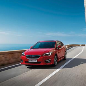 Subaru Impreza Premieres at Frankfurt