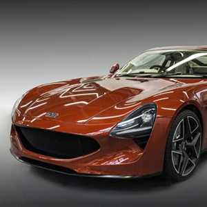 TVR has unveiled its all new sports car, the TVR Griffith