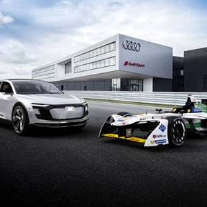 The all-electric Audi racing into the future