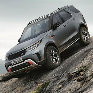 Ultimate all-terrain Discovery SVX