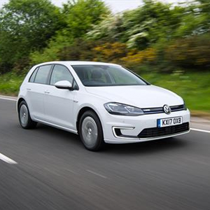 Updated electric Volkswagen e-Golf powers into showrooms
