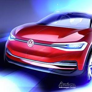 Volkswagen I.D. CROZZ concept - Frankfurt 2017