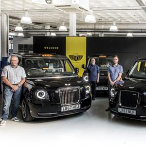 Electric Taxis arrive on London's roads today for testing