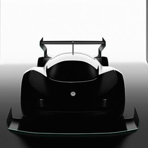 First glimpse of Volkswagen electric race car for Pikes Peak 2018