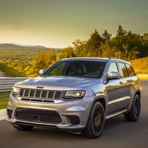 Jeep Trackhawk with GKN Driveline