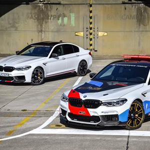 The New BMW M5 MotoGPTM Safety Car