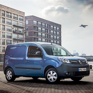 The Renault Kangoo Van Z.E.33