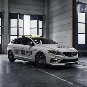 The new Volvo V60 Polestar WTCC Safety Car
