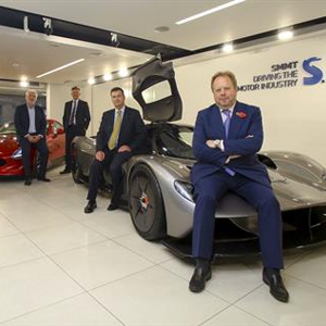 specialist car makers take to fast lane