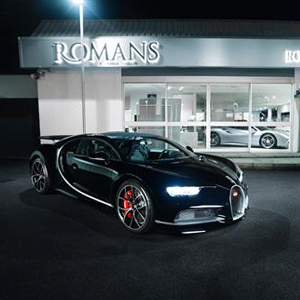 Bugatti Chiron - Romans International