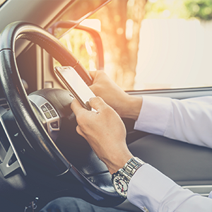 Businesses worried drivers are using mobile phones