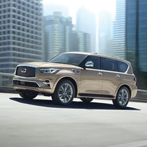 Infiniti unveils new QX80 at Dubai