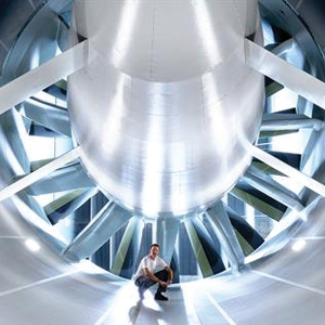 Inside the new Wind Tunnel Efficiency Center