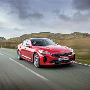 KIA Stinger GTS Red