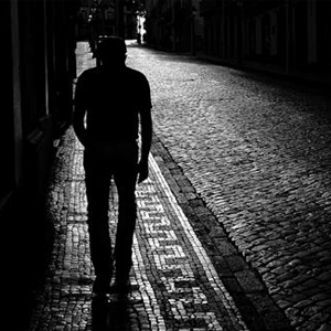 Pedestrians in the dark – as the nights draw in