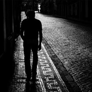 Pedestrians in the dark – as the nights draw in