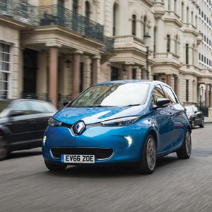 Renault ZOE declared Green Apple Pure Electric and Hybrid Vehicle