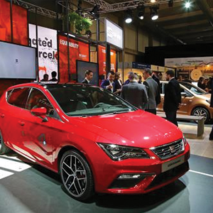 SEAT displays the Leon Cristobal at the Smart City Expo