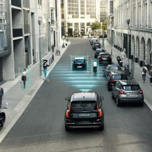 The Volvo XC90 City Safety system