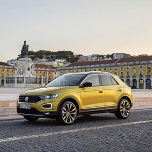 The new T-Roc in Lisbon