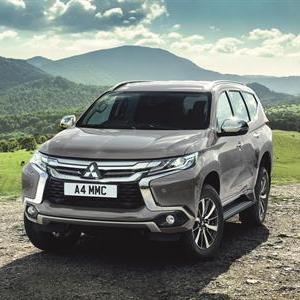 UK Launch For All-New Mitsubishi Shogun Sport
